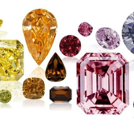 How Come Colored Diamonds Colored?
