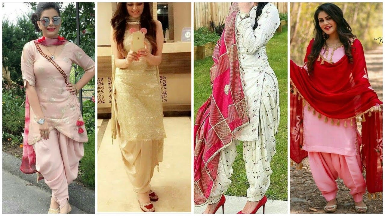 TYPES OF PUNJABI SUITS FOR EVERY WOMAN